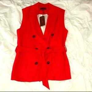 Rag & Bone Wool Belted Vest